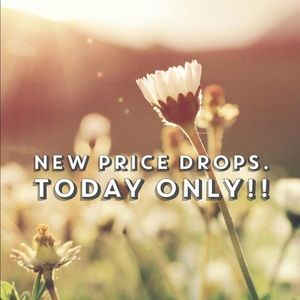 Other - Price drops today only